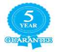 5 year guarantee image