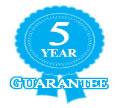 5 year guarantee image